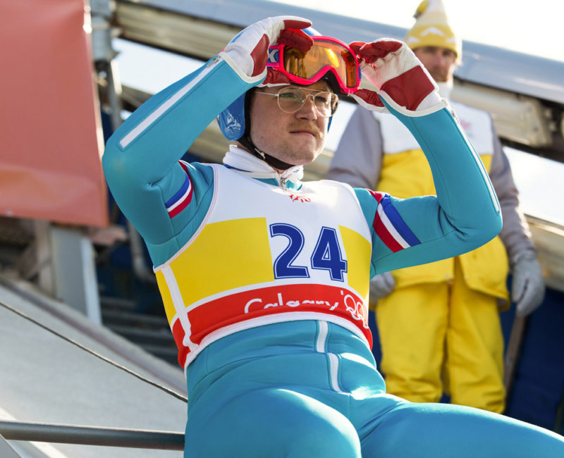 der cineast Filmblog - Review - Eddie The Eagle