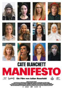 der cineast Filmblog - Kinovorschau November 2017 - Manifesto