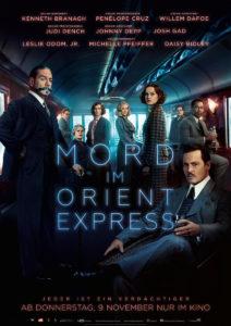 der cineast Filmblog - Kinovorschau November 2017 - Mord im Orient Express